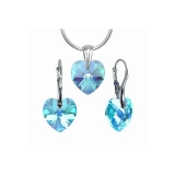 Swarovski elements 39003.4 blue zircon AB