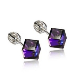 Swarovski elements 31030.5 heliotrope