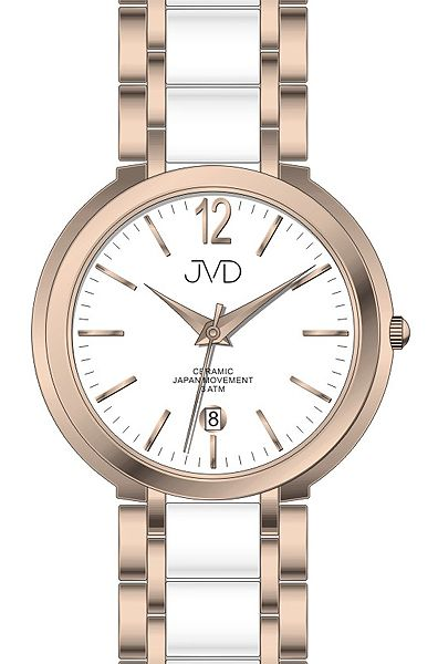 J1104.3 Dámské náramkové hodinky JVD 11d9c487bc6