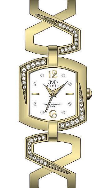 J4109.3 Dámské náramkové hodinky JVD  55a45cf3132